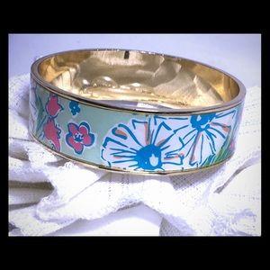 Lilly Pulitzer Floral Pink Bracelet